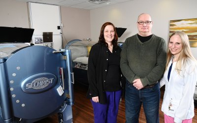 Patient's hearing improves thanks to Hyperbaric Oxygen Therapy at RMH