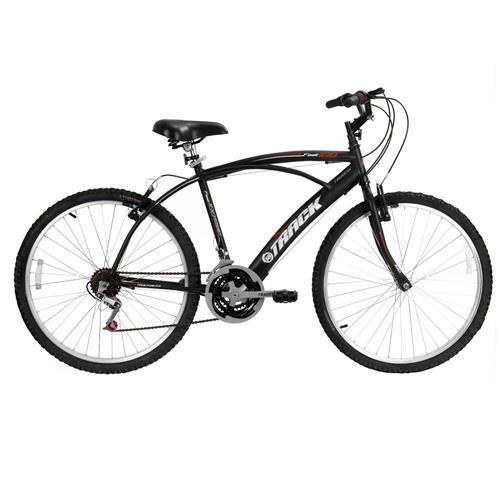 Bicicleta Aro 26 Track & Bikes Fast Confort 100P com 21