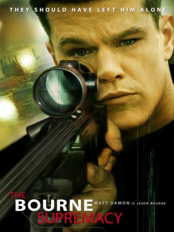 Bourne Supremacy Poster