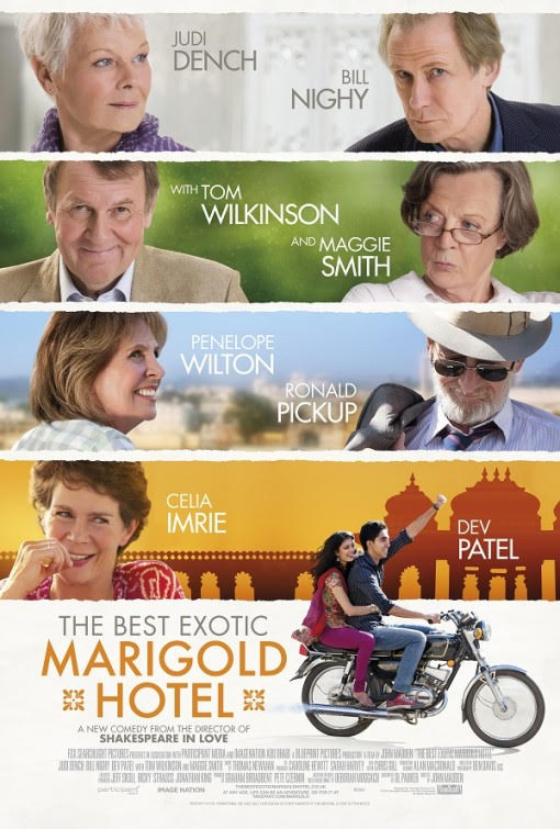 The Best Exotic Marigol Hotel Poster