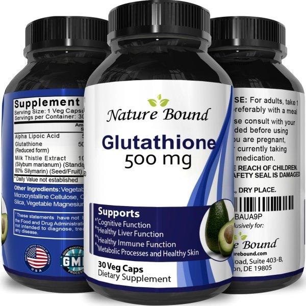 Nature Bound Glutathione 500mg