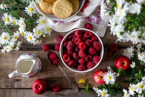 Raspberries nutrition