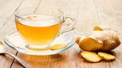 Ginger tea, tea for constipation