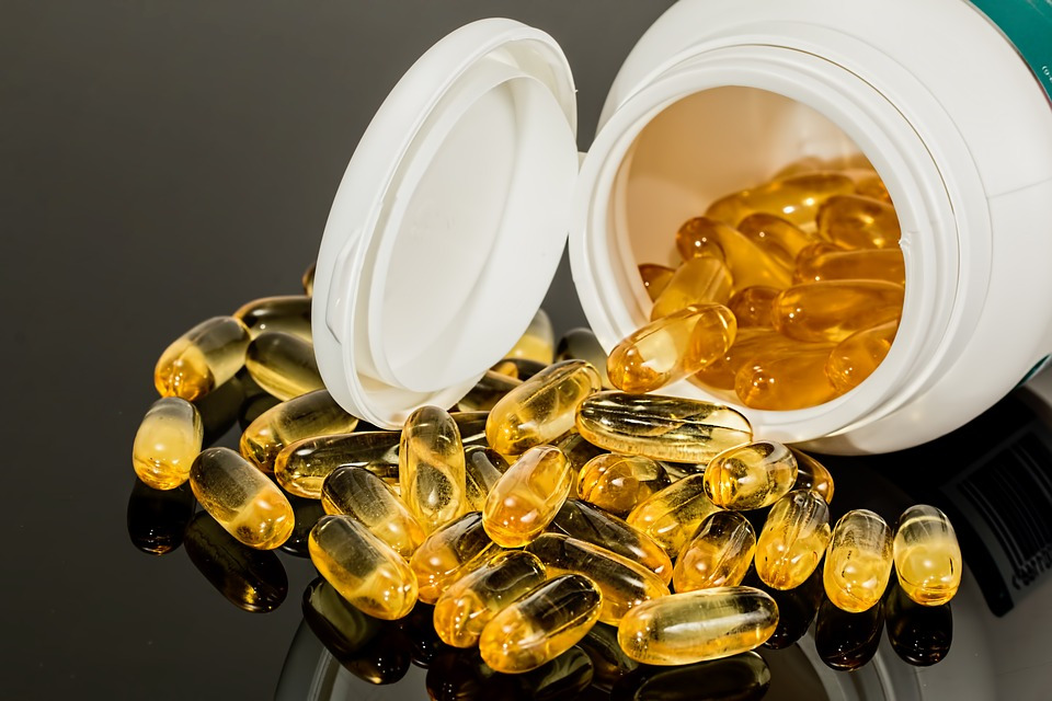 Fish Oil and Vitamin D supplements