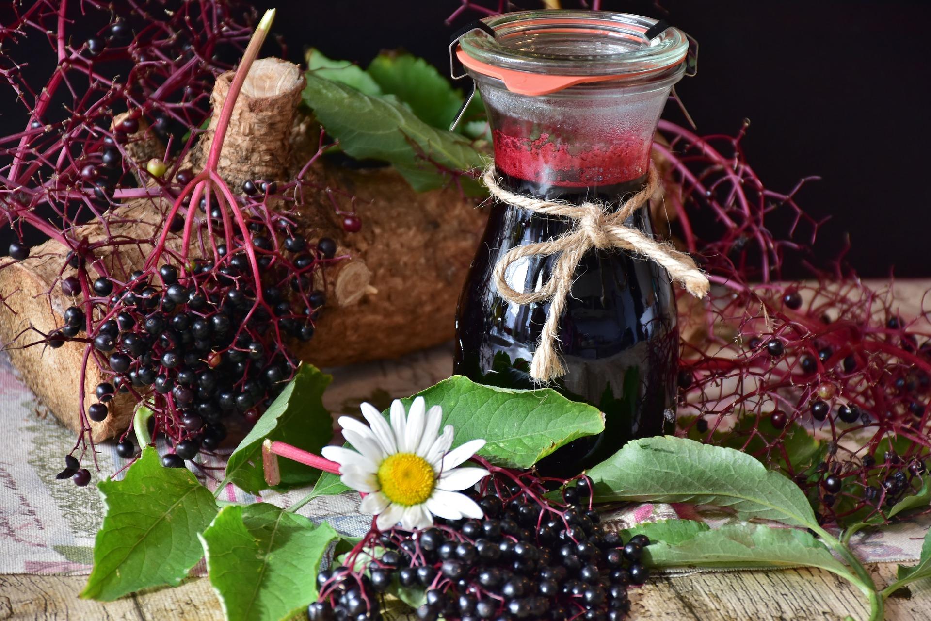 Health benefits of Elderberries