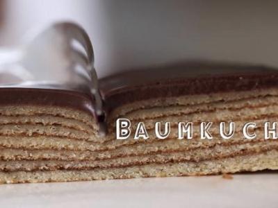 Baumkuchen from Byron Talbott