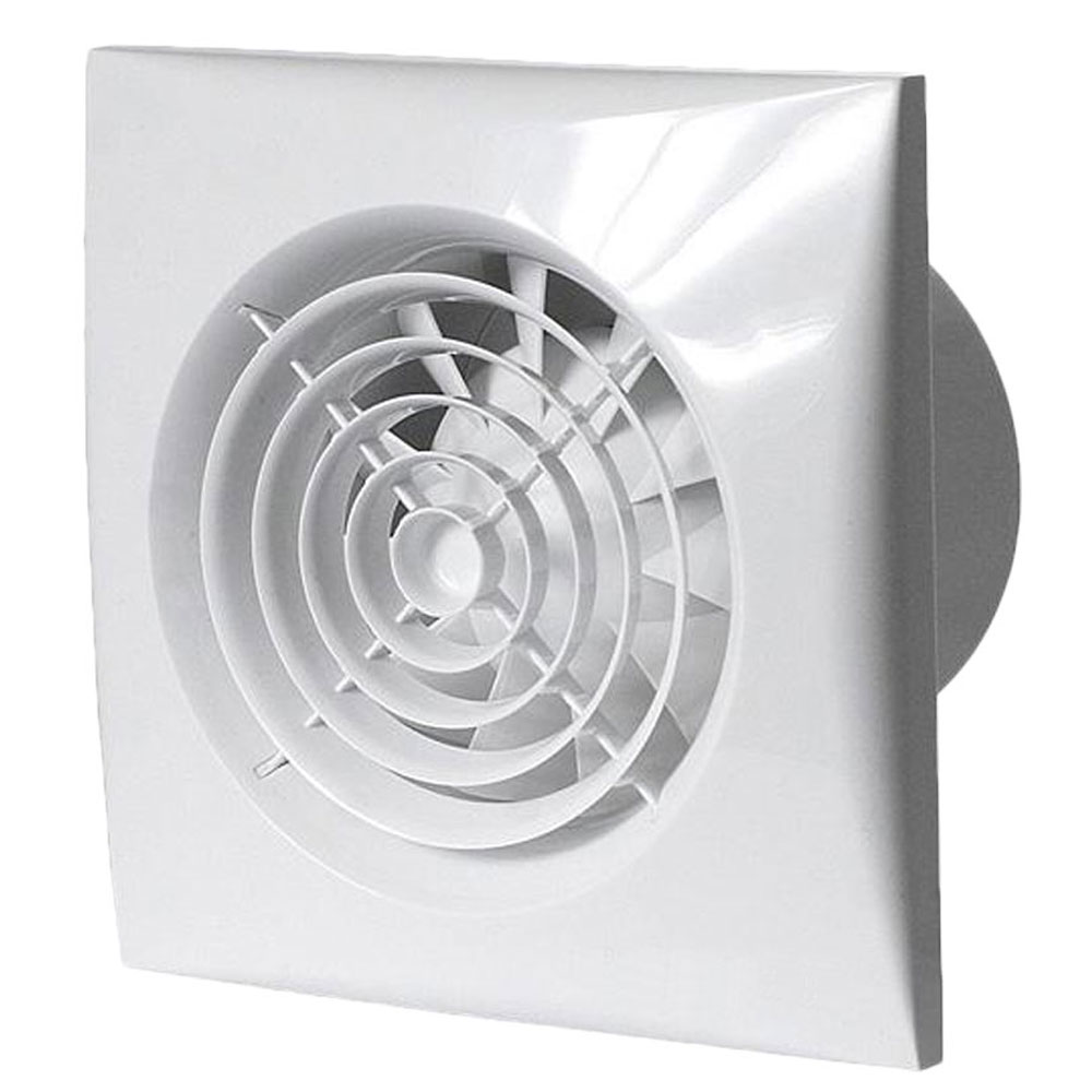 low voltage silent extractor fan timer sil100t12v
