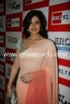 Zarine Khan at Big FM Studios promoting movie Veer (1)