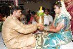 Actress Meena married Bangalore-based techie Vidyasagar in Tirumala