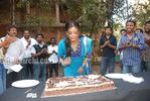 Actress Priyamani Birthday celebration on the sets of RaktaCharitra (2)