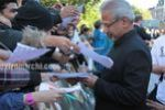 Maniratnam and Suhasini Maniratnam at Raavan premiere in London