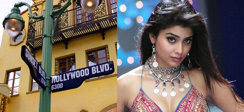 Shriya goes Hollywood