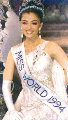 Miss World- Aishwarya Rai