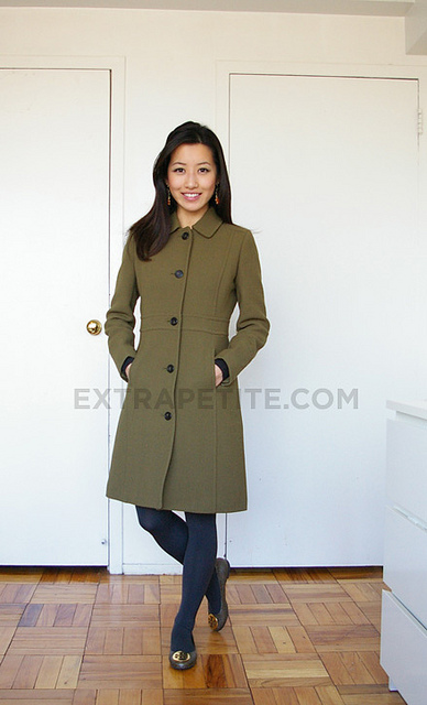 Review JCrew Double Cloth Lady Day Coat in Petite 0  Extra Petite