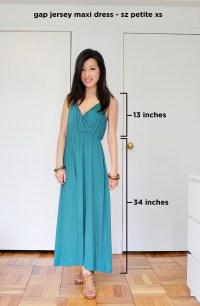 Review: Gap Petite Jersey Maxi Dress - Extra Petite