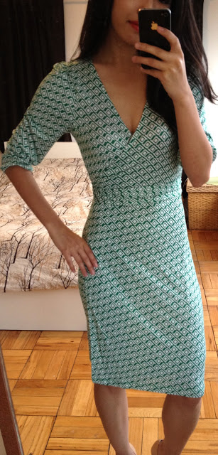 DVF for Less Old Navy  Gap Wrap Dresses Review  Extra Petite