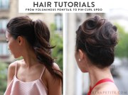 easy formal hairstyle tutorials