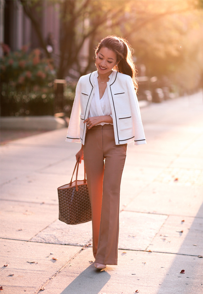 Classic in Camel  Wide leg pants for petites  Extra Petite