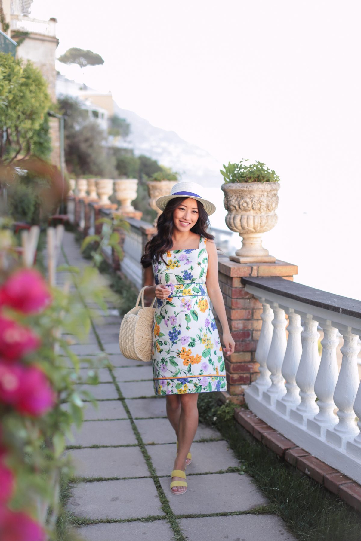 Positano Italy outfit  the most comfortable travel sandals