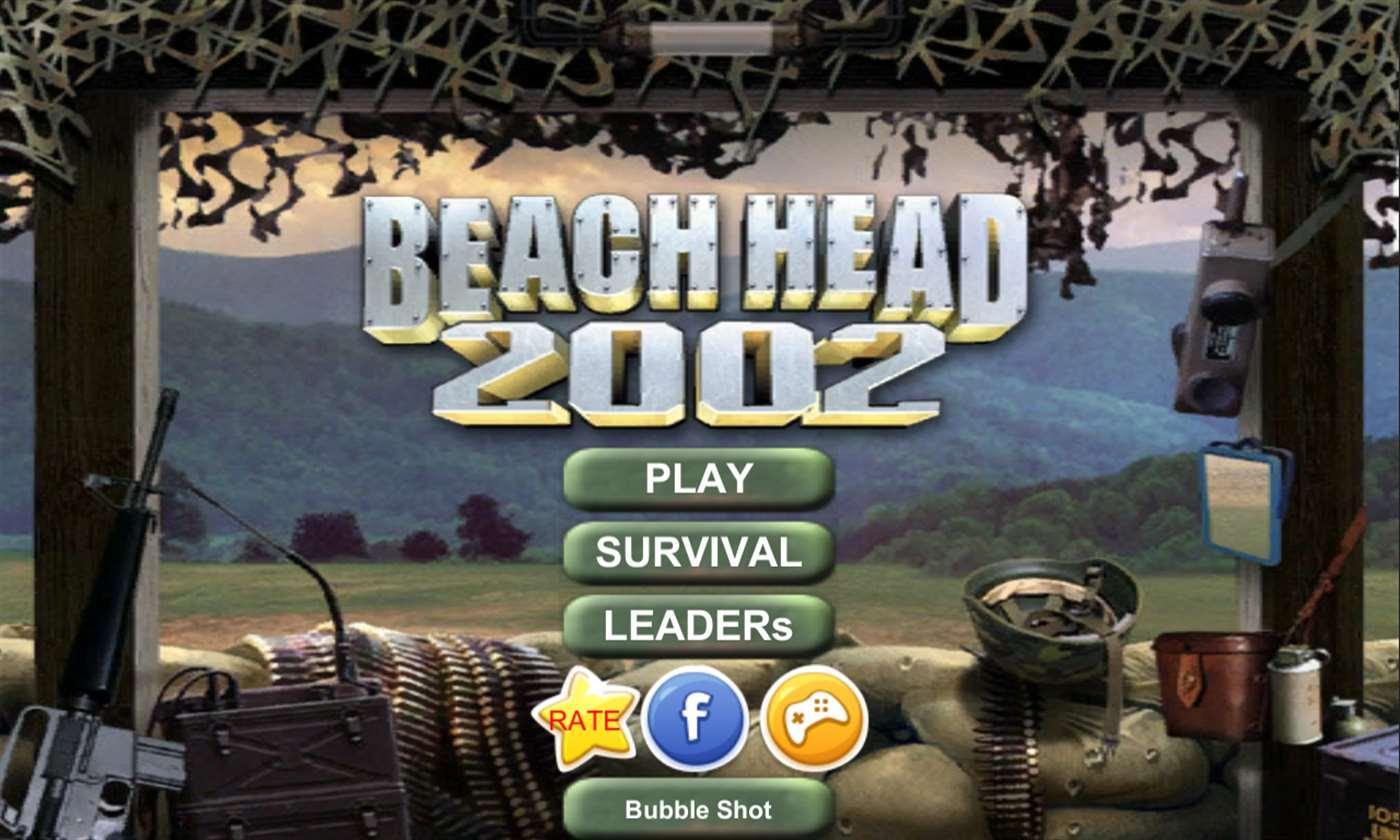 تحميل لعبة بيتش هيد Beach Head القديمة 2002 برابط مباشر