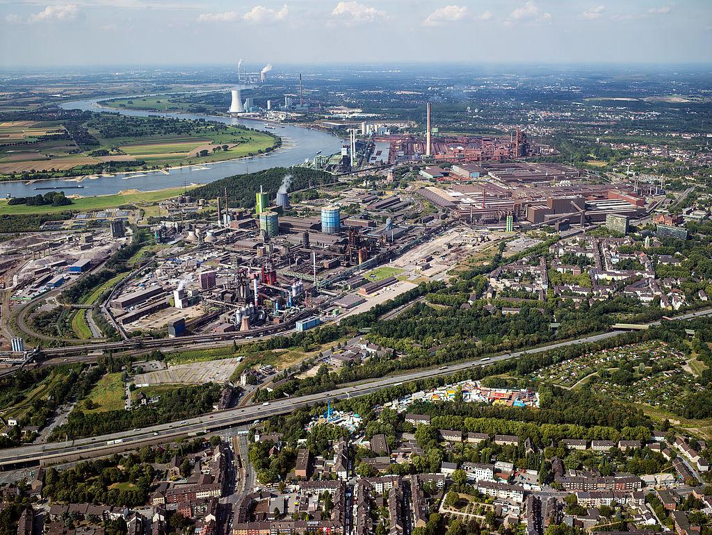ExtraSchicht Spielort  Thyssenkrupp Duisburg