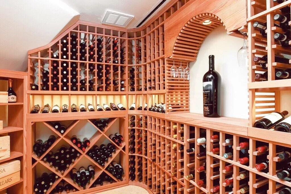 Wine cellar. Photo by Instagram user @ericcopper