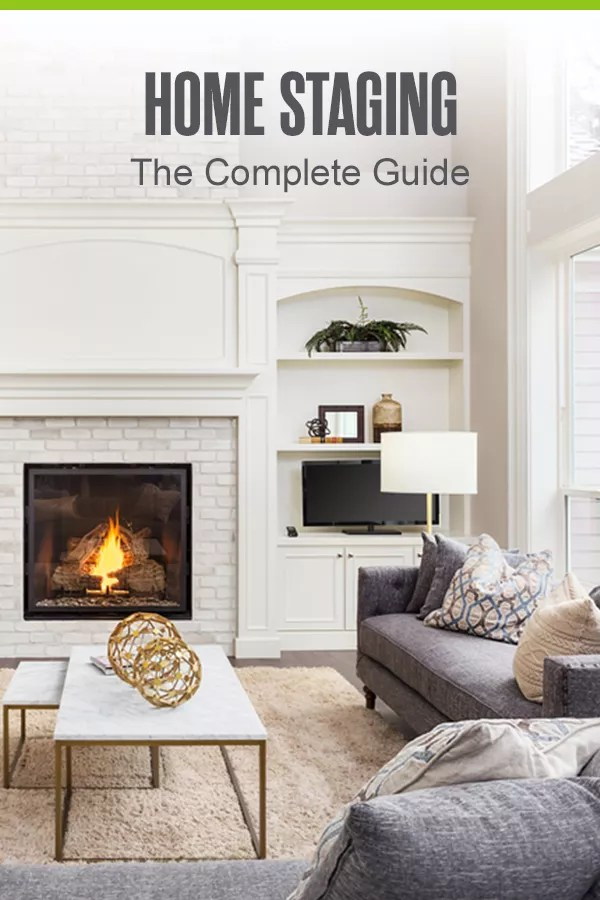 Pinterest Graphic: Home Staging - The Complete Guide