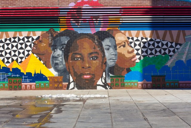 Sergio Alexis Perez Mural in Harlem, NYC