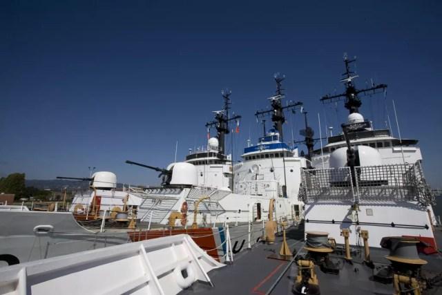 USCG Alameda ships in Oakland, CA