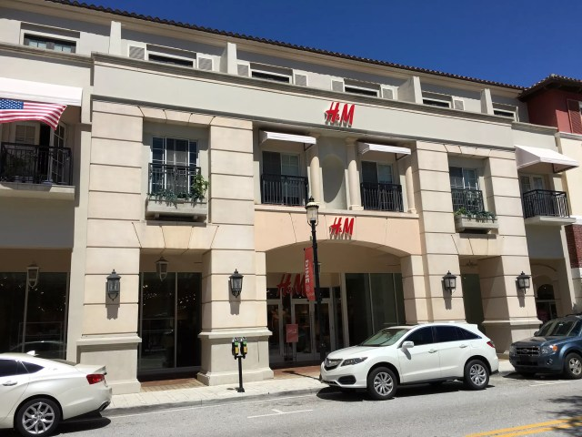 H&M store at CityPlace in West Palm Beach