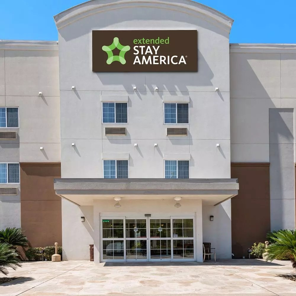 Extended Stay America hotel. Photo by Instagram user @extendedstayamerica