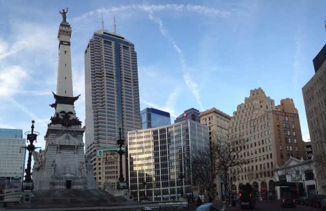 Monument Circle in Indianapolis, IN