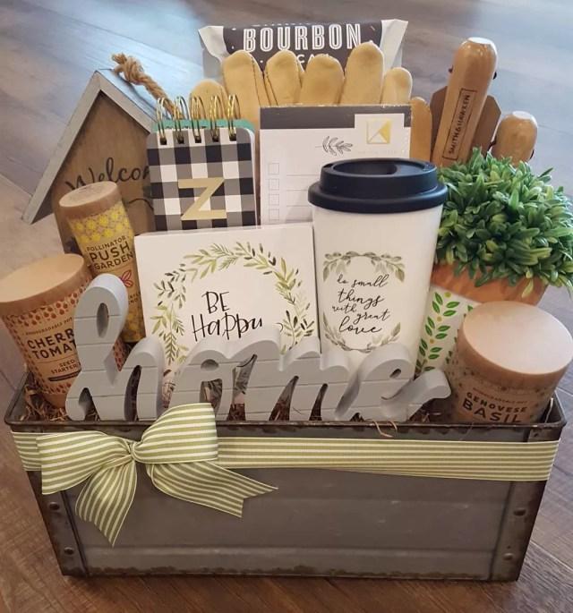 Welcome basket. Photo by Instagram user @giftbasketsbymelissa