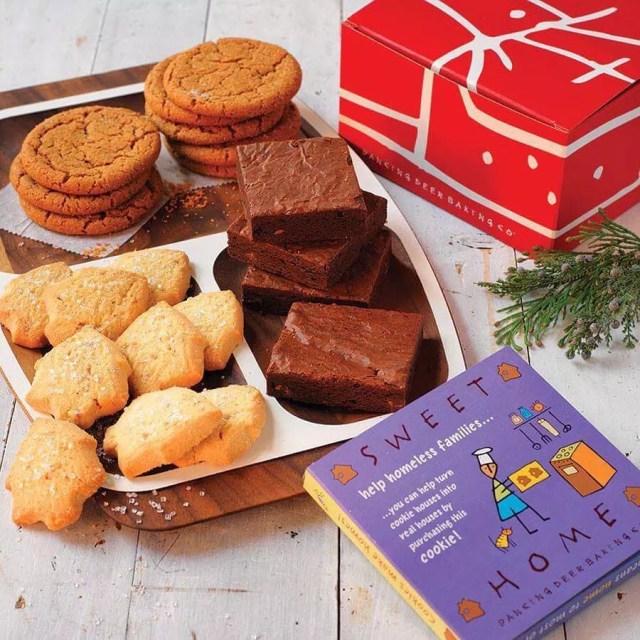 Plate of cookies and brownies. Photo by Instagram user @dancingdeerco