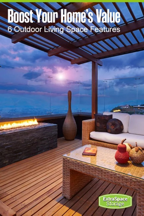 6 outdoor living space features to boost your home's value