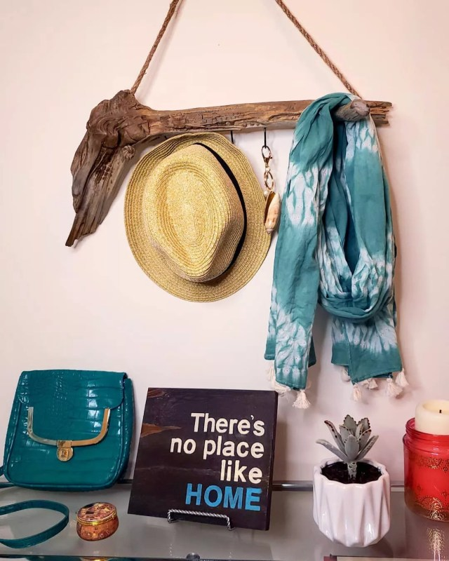 Homemade Hats, Welcome Signs, Wooden Hangers, and More to Be Sold on Etsy. Photo by Instagram user @aquasoletsy