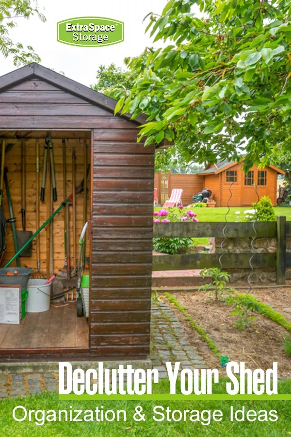 Declutter Your Shed