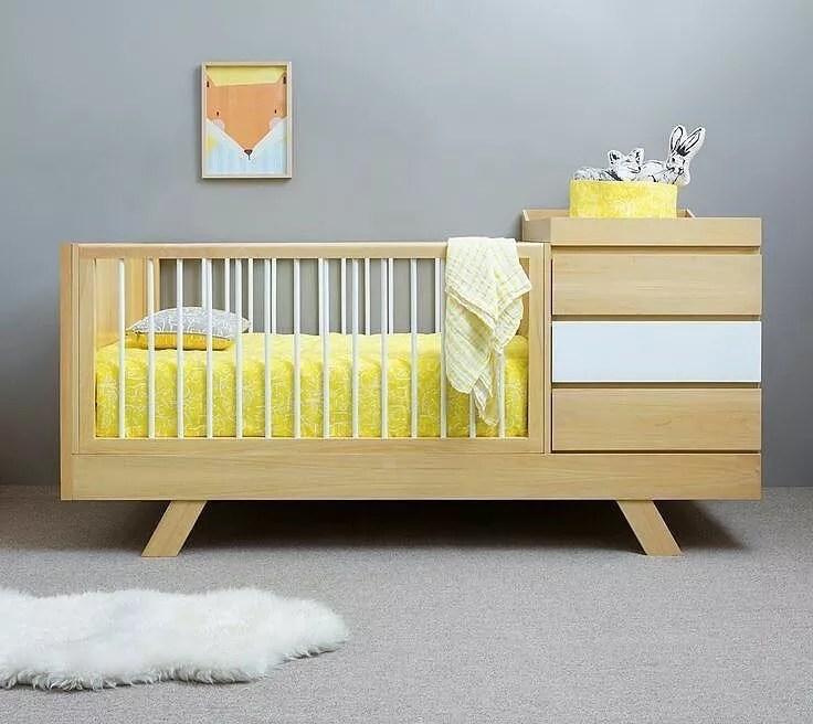 Multi-purpose crib changing station. Photo by Instagram user @boxbayirakitan