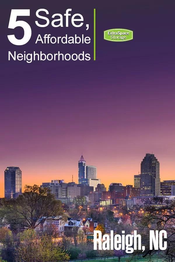 Safe Neighborhoods in Raleigh