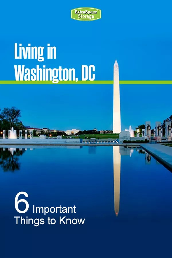 Living in Washington, DC