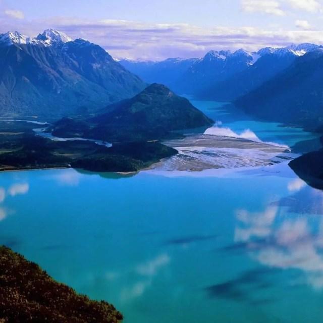 Aerial view of Bristol Bay Borough in Alaska. Photo by Instagram user @cntraveler