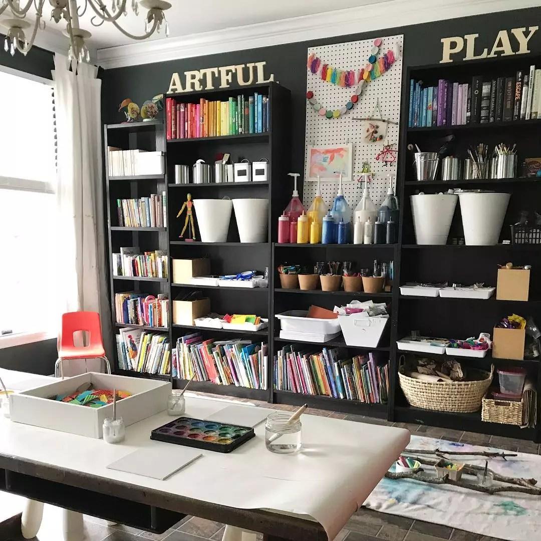 20 Creative Home Art Studio Ideas For A Spare Room Extra Space Storage