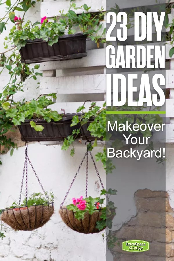 23 DIY Garden Ideas