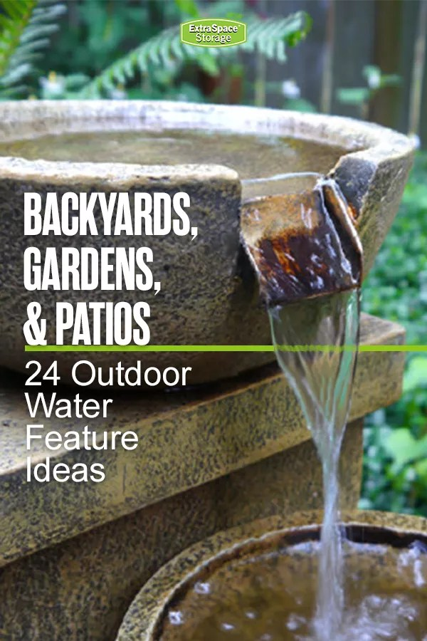 24 Outdoor Water Feature Ideas
