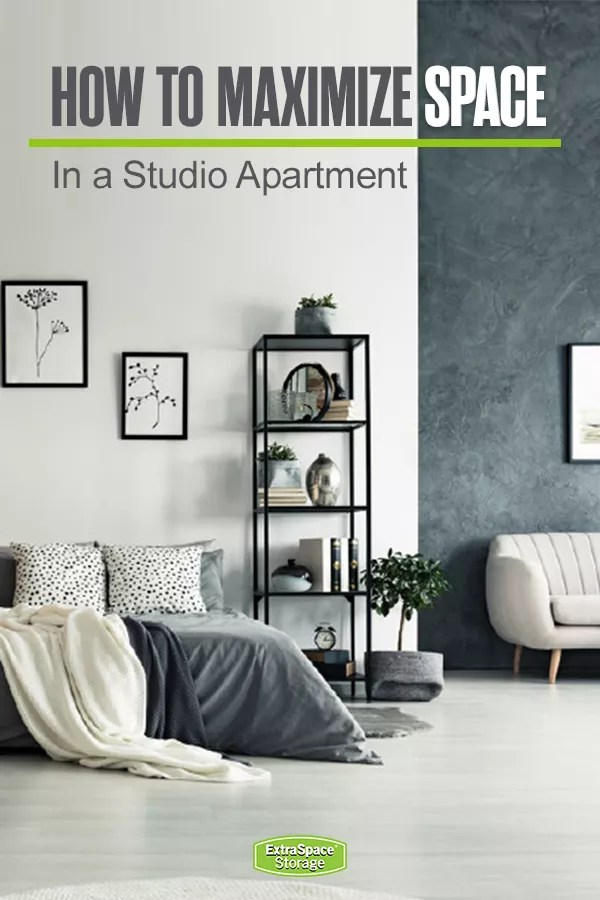 Maximizing Space In a Studio Apartment