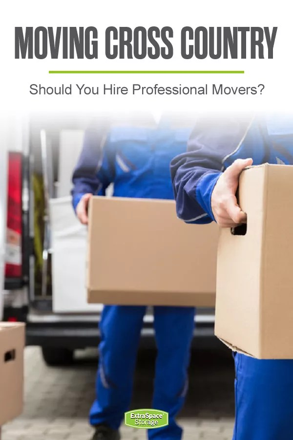Moving Cross Country: Should You Hire Professional Movers?
