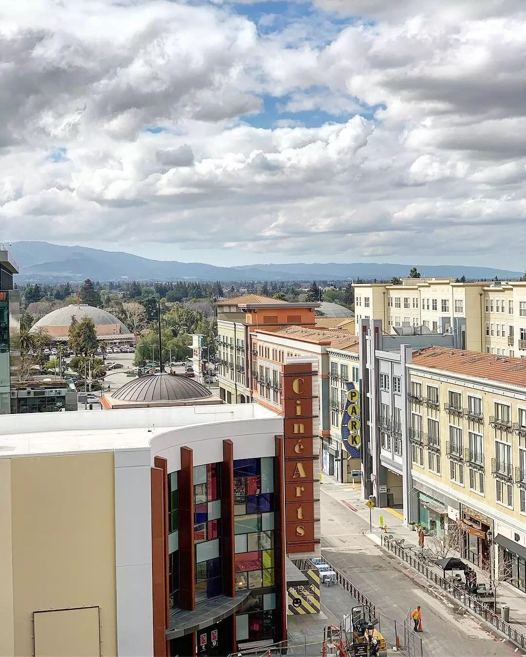 San Jose's Santana Row. Photo by Instagram user @santanarow