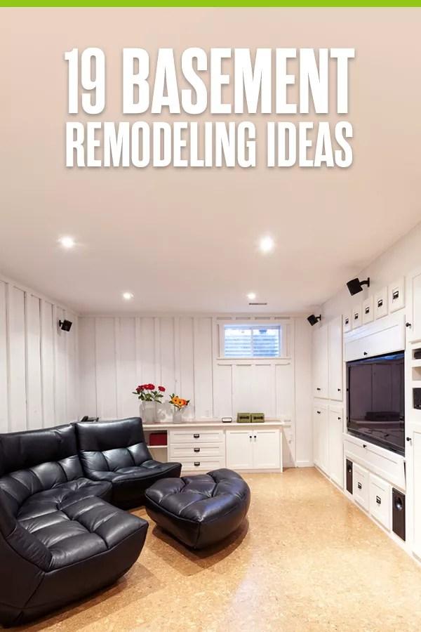 19 Basement Remodeling Ideas