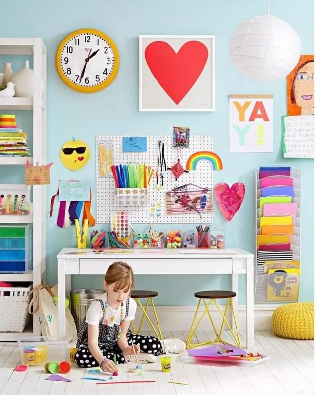 25 Kids Study Room Designs Decorating Ideas: 20 Cute Kids Study Room Ideas