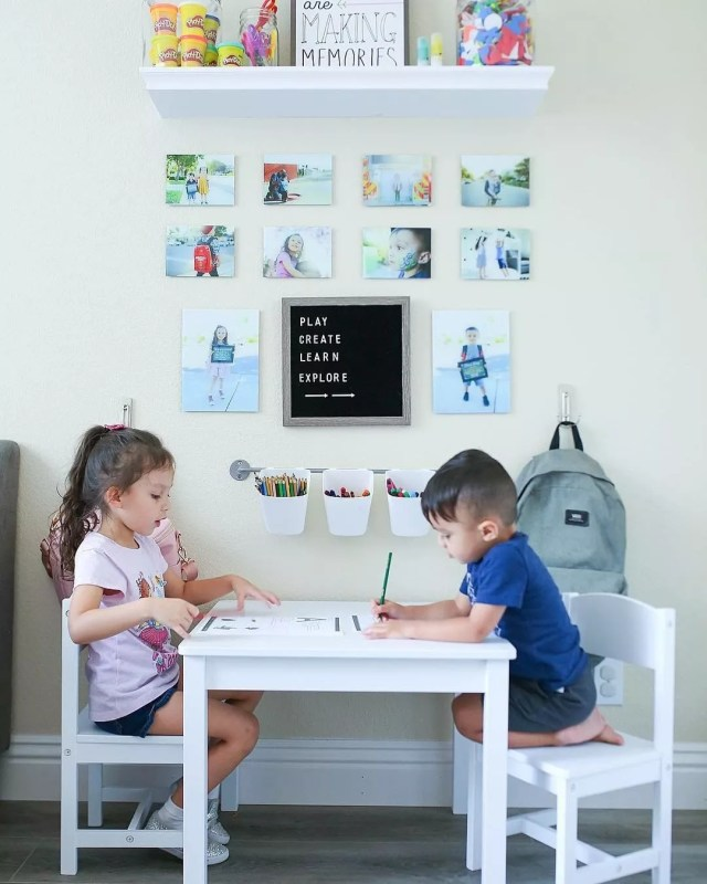 Toddler Study Room: 20 Cute Kids Study Room Ideas